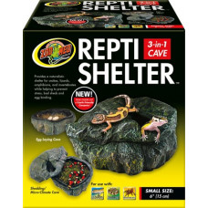 Repti Shelter 3 in 1 Cave - Large